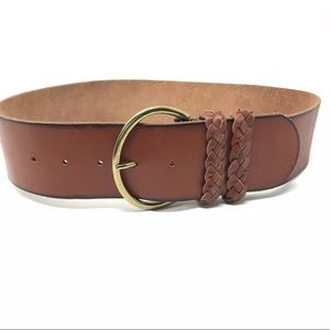 Genuine Leather Size Small Brown Fashion Belt